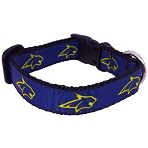 NCAA Montana State Bobcats Dog Collar, Royal, X-Small