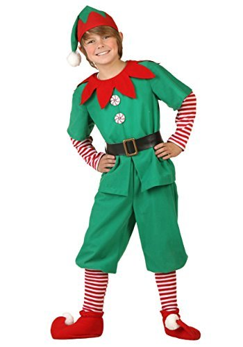 Big Boys' Holiday Elf Costume