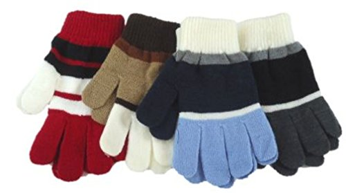 set-of-four-pairs-of-one-size-magic-stress-gloves-for-ages-5-15-years