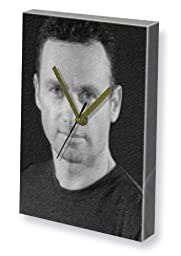 ANDREW LINCOLN - Canvas Clock (LARGE A3 - Signed by the Artist) #js002