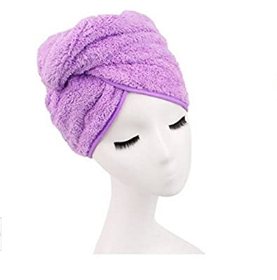 Shintop Brand New Dry Hair Cap Women's Waterproof Ribbon Lace Bow Style Double Layer Elastic Band Shower Hat for Bath Spa