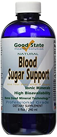 Liquid Ionic Minerals Blood Sugar Support (96 Day Supply)