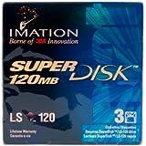 Imation SuperDisk 120MB (3-Pack) LS-120 Super Disk
