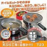 ツイン天ぷら鍋天ぷら工房(温度計付)