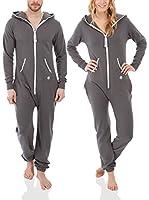 ZipUps Summer Mono-Pijama (Gris)
