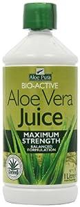 Optima Health Aloe Pura Aloe Vera Juice Maximum Strength Juice 1L