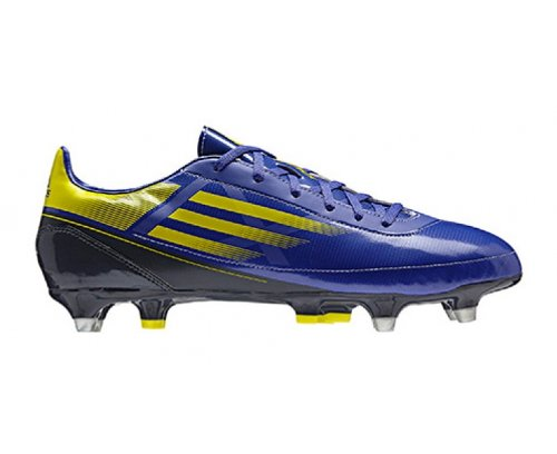Adidas, Scarpe da Rugby uomo, Blu (Blue/Yellow), 7 UK