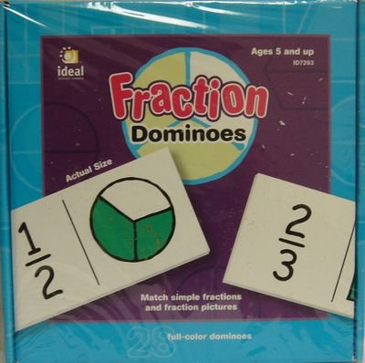 Dominoes Fraction (28 full color dominoes) - 1