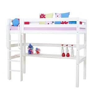soldes alfred compagnie lit mezzanine avec bureau. Black Bedroom Furniture Sets. Home Design Ideas
