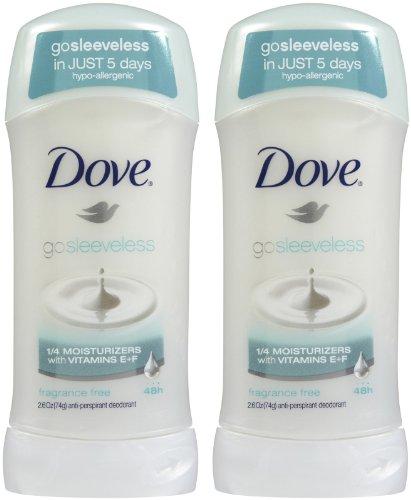 Dove Anti-Perspirant & Deodorant Ultimate Clear, Fragance Free, Sensitive Skin - 2.6 Oz
