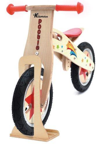 Pootle Bike Balance en bois avec support