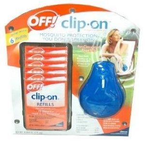 cvs off clip on mosquito repellent