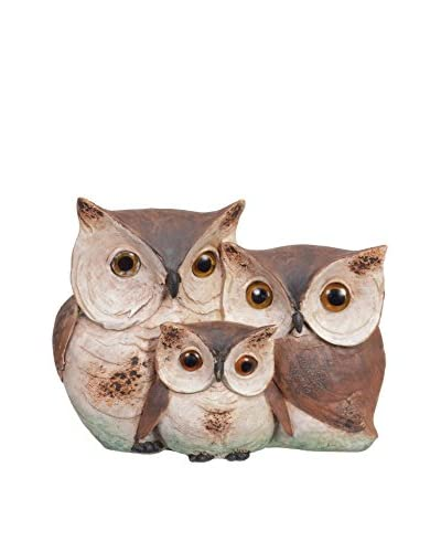 Fantastic Craft Owl Family, Natural