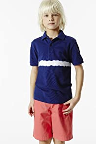 Boy's Short Sleeve Tie Dye Pique Polo