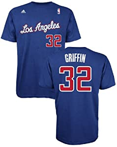 Blake Griffin 32 Los Angeles Clippers High Definition Select Replica T Shirt by... by adidas