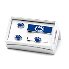 Penn State University Nittany Lions 3-Piece Gift Set by Cufflinks