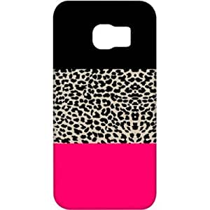 Crackndeal 8NWPATCS6EDGE Back cover for Samsung Galaxy S6 edge, (Multi-coloured)
