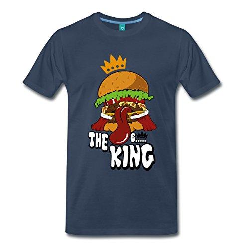 the-hamburger-king-manner-premium-t-shirt-von-spreadshirtr-l-navy