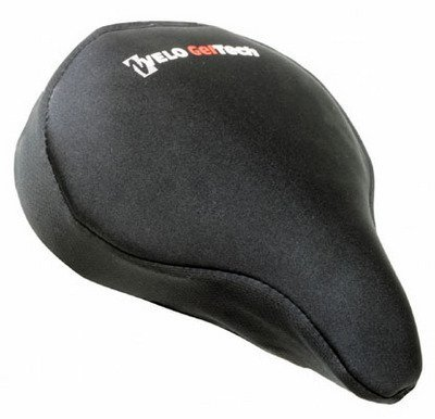 Sunlite Cloud-9, Gel Bicycle Seat Cover, for Cruiser or Exercise Bikes Cycling, Bike, Bicycle, Cycle, Bicycling
