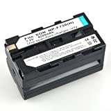 Neewer 2x Battery for Sony NP-730 NP-F750 NP-F730H TR7000 Camcorder