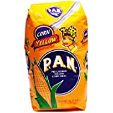 Pan Pre-Cooked Yellow Corn Flour