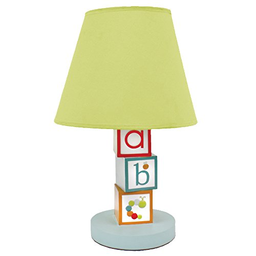 Nurture Imagination Baby Nursery Lamp Base and Shade, My Abc's