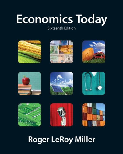 Economics Today plus NEW MyEconLab with Pearson eText (2-semester access) -- Access Card Package (16th Edition)