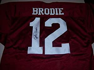 John Brodie Signed Jersey - Stanford Cardinal W coa by Sports+Memorabilia