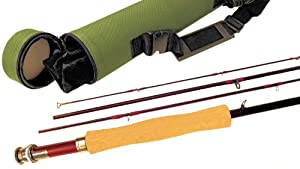 APPALACHIAN FLY ROD 5 6 wt, 4 pc, 9ft, IM-10 Graphite, with carbon fiber reinforced... by APPALACHIAN