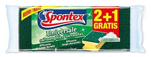 spontex-universale-set-de-3-estropajos-salvaunas-con-fibra-de-extractos-minerales-color-verde