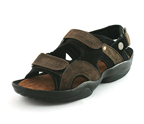 Fucasso-Mens-Leather-Green-Sandals