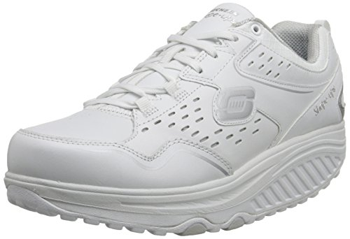 skechers20-perfect-comfort-scarpe-sportive-outdoor-donna-bianco-white-white-silver-385-eu