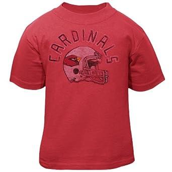 NFL Arizona Cardinals Youth Kickoff Crew T-Shirt, Rad, 3T by Junk Food