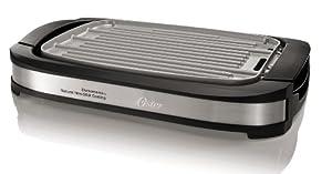 Oster CKSTGR3007-ECO DuraCeramic Reversible Grill and Griddle, Black
