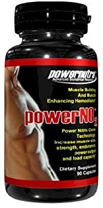 Power NO2 - 90 Capsules Nitric Oxide Muscle Building And Muscle Enhancing Hemodilator