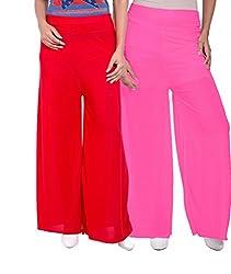 Luvcare Cotton Silk Plazzo for women