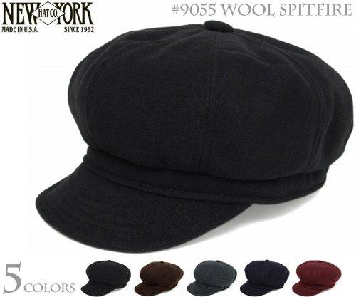 ニューヨークハット(NEW YORK HAT) ハンチング キャスケット #9055 WOOL SPITFIRE(ウールスピットファイアー)