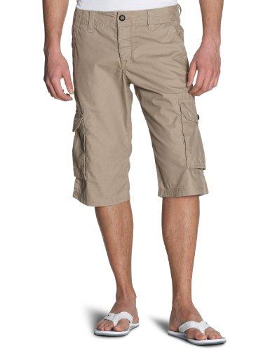 Esprit Men's Cargo Shorts  Dark Pier Beige 28