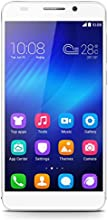 Honor 6 Smartphone (5 Zoll, Touchscreen, Octa-Core, 3GB RAM, 16GB ROM, 13MP Hauptkamera, 5MP Frontkamera, LTE CAT6, Android 4.4, EmotionUI 2.3) weiß