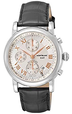 [Mont Blanc] MONTBLANC watch STAR Silver Dial Automatic Chronograph 36967 Men's parallel import goods]