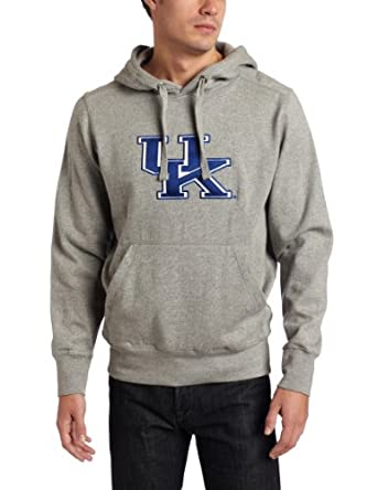 NCAA Kentucky Wildcats Applique Signature Hoodie Mens by Antigua