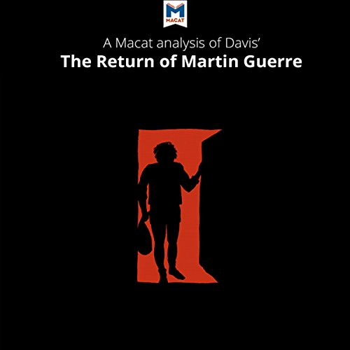 an analysis of the topic of the return of martin guerre The return of martin guerre discussion 38 views what makes the identity comments natalie zemon davis wrote a really eloquent and brilliant analysis.