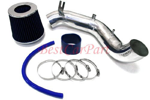 02 03 04 05 06 Acura RSX Type-s Short Ram Air Intake + Filter Blue (Included Air Filter) #Sr-ac005b (Rsx Type S Intake compare prices)
