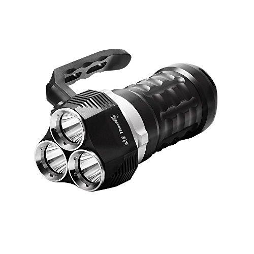 ThorFire Scuba Diving Flashlight 2000 Lumen with 3 x LED Waterproof Searchlight Underwater 70m Torch