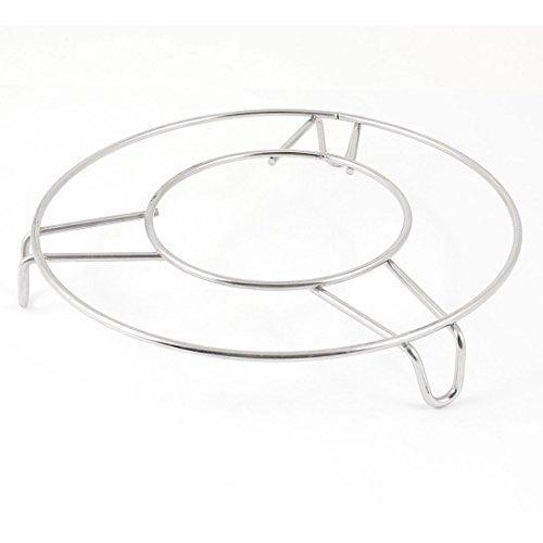 Küche aus Edelstahl mit 15,24 cm Durchmesser rund Dampfgarer Flaschenregal für Dampfreiniger