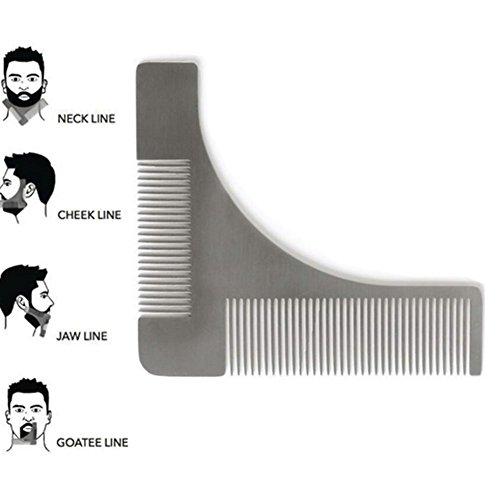 tpone-strumento-pettine-e-modello-di-struttura-in-acciaio-barba-per-forma-perfetta-la-barba