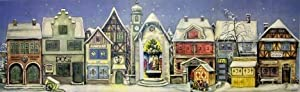 1946 Village German Christmas Advent Calendar by Sellmer Verlag