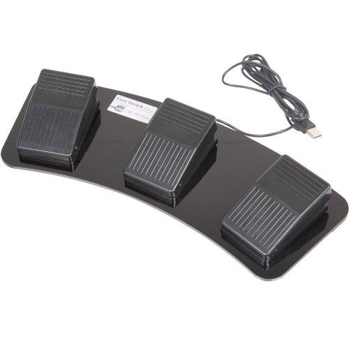 サンコー USB足踏みスイッチ(トリプル) USFOTS3S <34697>