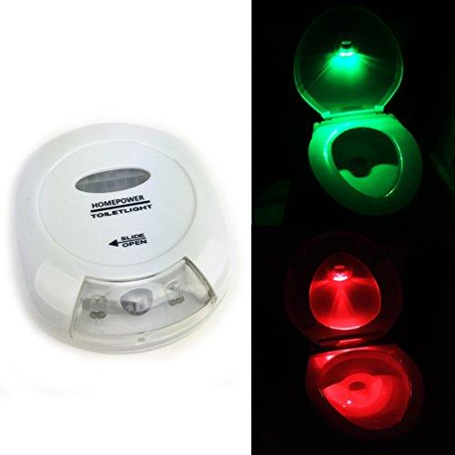 Toilet Light - Motion Activated! illuminates entire bowl