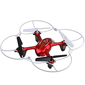 Syma X11C RC Quadcopter with Camera & LED Lights - Red